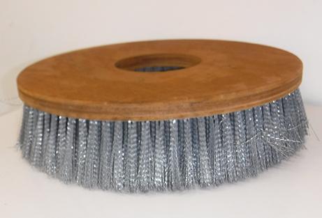 ダム工事用特殊ブラシの製作